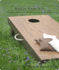 Wooden Corn Hole Game DIY Wood Cornhole Board 5