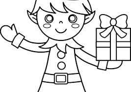 Free Printable Christmas Elf Coloring Pages 35 Best Christmas Elf