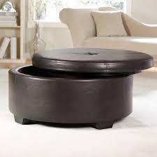 round coffee table ottoman