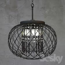 yanira antique black crystal pendant chandelier