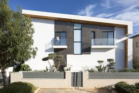 simple modern house. Plain Simple Shai Epstein Front Facade Of Simple Modern Home By SacharRozenfeld  Architects Throughout Simple Modern House