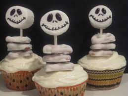 Halloween Bundt Cake Decorations Jack Skellington Cupcakes And Halloween Decorations Life In