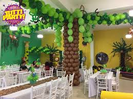 Jungle Party ideas, animals Party ideas, animales de la selva jungla.  Decoraciones de