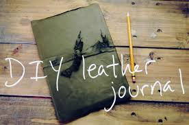 there s something so hemingway chic about a leather bound journal