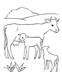 Baby Animal Coloring Page Rollingmotorsinfo