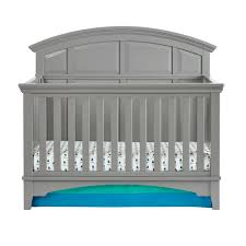 gray nursery furniture. Brooklyn 4-in-1 Convertible Crib Gray Nursery Furniture