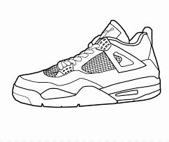 Michael Jordan Shoes Coloring Pages Awesome Jordan 1 Coloring Pages
