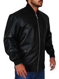 Stylish Eminem Not Afraid Black Leather Jacket
