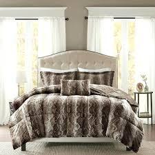 king size faux fur bedding faux fur king comforter set bed bedding sets home design ideas king size faux fur bedding