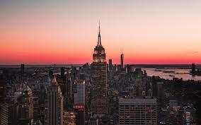 City, Skyscraper, Skyline, Night ...