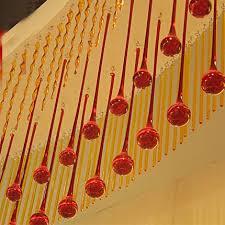 40pcs lot 20 80mm top qualtiy red crystal chandelier pendants crystal waterdrop pendant crystal drop prisms