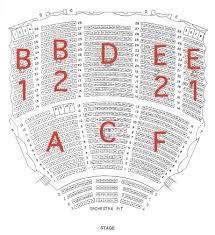 Dakota Seating Chart Seating Chart Chester Fritz Auditorium University Of