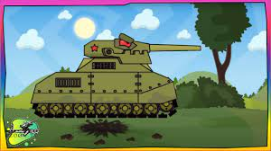 Game bắn xe tăng Quái vật - Trận chiến của Quái Vật Liên Xô | Phim hoạt hình  về xe tăng