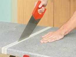 how to install a countertop how tos diy in cutting formica countertop
