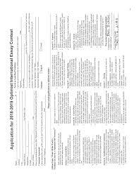 Optimist Essay Contest Essay Contest Optimist Club Of Carlsbad