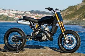 honda cr500 supermoto by dab design bikebound