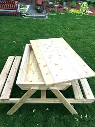 kid picnic table ideas on kids view larger plans designs metric