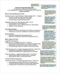 Legal Resume Enchanting 28 Sample Law CV Templates PDF DOC Free Premium Templates