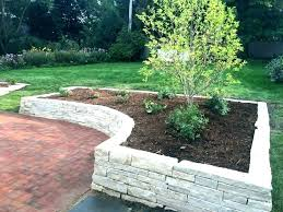 retaining wall ideas rock retaining wall ideas landscaping and retaining walls e landscape garden wall ideas timber pictures curved rock retaining wall