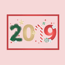 greeting card templates free christmas style new year 2019 greeting card design free vector