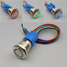Wiring Push Button Light Switch Push On Switch 12v Wiring Diagram 5 Pin Push Button Wiring