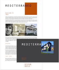 Mediterraneo Design Build Mediterraneo One Degree Brand Chemistry