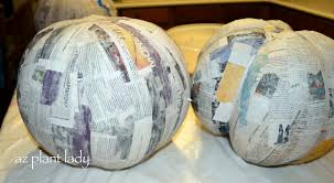 Image result for paper mache pumpkins