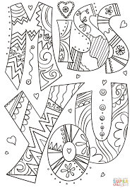 Small Picture Miss You Doodle coloring page Free Printable Coloring Pages
