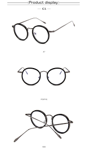 Designer Frames Outlet Coupon 2018 Heg H Women Eyeglasses Frame Circle Glasses Fashion Glasses With Clear Lenses Nerd Eyewear Brand Designer Lunettes Rondes H084 From Bojiban
