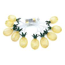 Pineapple Light Us 2 25 28 Off Creative Led Battery Box Iron Pineapple Pineapple Light String Christmas Garden Party Decoration Lantern In Led Strips From Lights