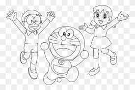 Kumpulan gambar mewarnai doraemon yang banyak dan bagus via marimewarnai.com. Ilustrasi Doraemon Nobita Dan Shizuka Menggambar Doraemon Wii Shizuka Buku Mewarnai Minamoto Doraemon Sudut Putih Anak Png Pngwing