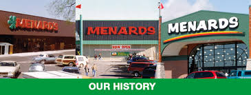 Our History at Menards
