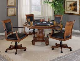 Game Table And Chairs Set Hillsdale Kingston Game Table 6004 810 811