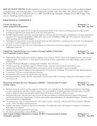 Resume Data Analyst Resume Examples