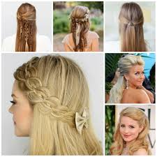 Occasion Hair Style new half updo hairstyle trends 2017 hairstyles 2017 new haircuts 5624 by wearticles.com