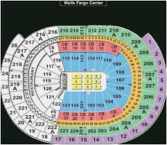 Rupp Arena Seating Chart Seat Numbers 45 Skillful Wells Fargo Seating Chart Pink