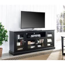 walker edison furniture company black entertainment center