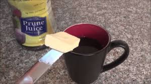 It lubricates the inner walls of the colon and facilitates the movement of the bowels. Fast Constipation Relief Life Hack Warm Prune Juice Butter Youtube