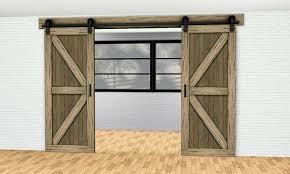 double sliding barn door arch by gelinagelina sims 3 s cc caboodle