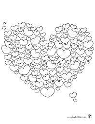 Small Picture Valentines hearts coloring pages Hellokidscom