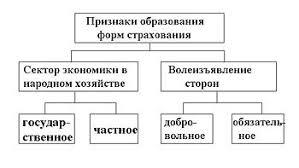 Страхование Википедия Формы страхования