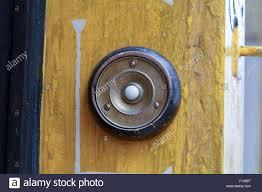 Decorating circular door images : Circular door bell outside shop in Totnes, Devon, England Stock ...