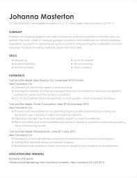 Skills And Abilities Example Resumes