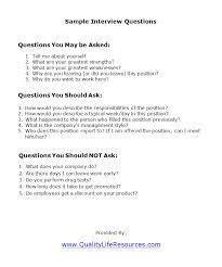 Sample Resume Questions Sample Resume Questions Interview Job shalomhouseus 3
