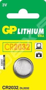 Литиевая <b>батарейка CR2032</b> (<b>GP CR2032</b>-<b>C1</b>) - купить , скидки ...