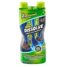 32 oz dissolve hair and grease clog remover
