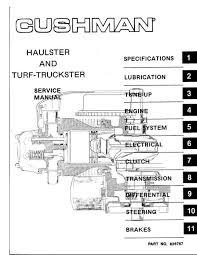 cushman haulster wiring diagram cushman diy wiring diagrams