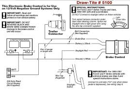 trailer brake controller wiring diagram wirdig draw tite brake controller 5100 does not have power after switching