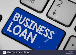 Writing Note Showing Business Loan Business Photo
