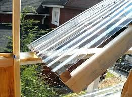 clear plastic roof panels corrugated fiberglass transpa sheets poly roofing menards pla